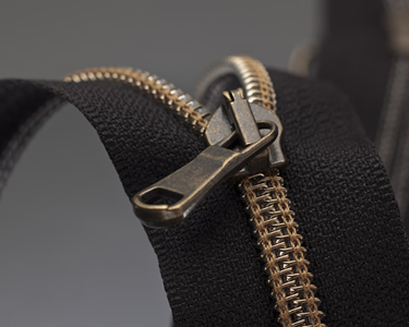 Vacuum Plated Zipper
